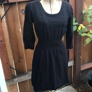 Mango black dress size L